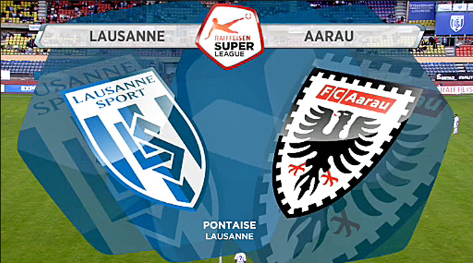 Ponturi pariuri fotbal Elvetia - Lausanne vs Aarau