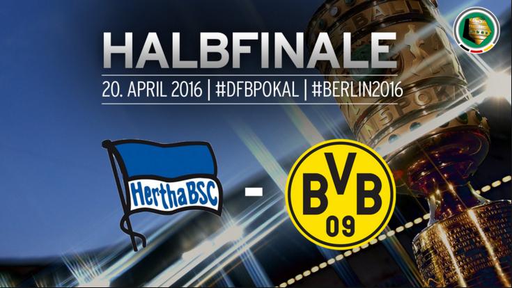 Ponturi pariuri fotbal DFB Pokal - Hertha vs Borussia Dortmund