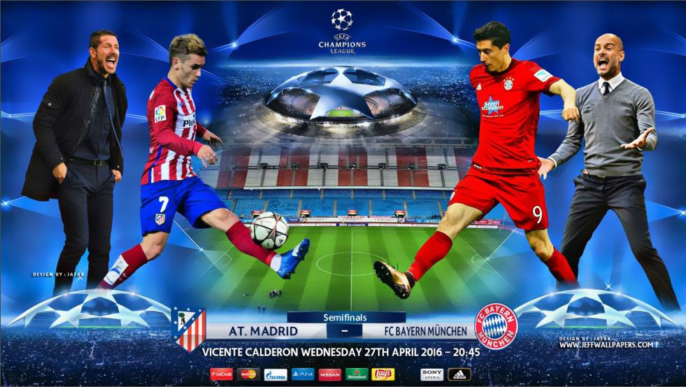 Ponturi pariuri UCL - Atl. Madrid vs Bayern Munchen
