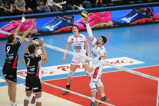 Volei Masculin, Sferturi de finala, Serie A
