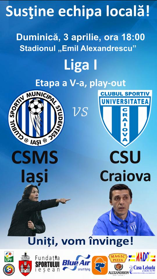 Ponturi pariuri fotbal Iasi vs Craiova