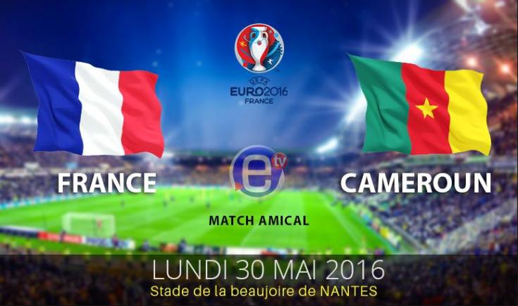 Ponturi fotbal EURO 2016 - Amical Franta vs Camerun