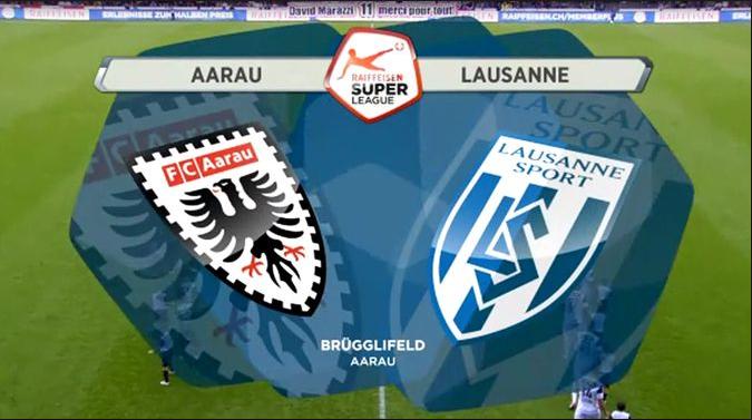 Ponturi fotbal Elvetia - Aarau vs Lausanne