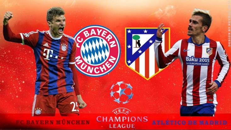 Ponturi pariuri fotbal UCL - Bayern Munchen vs Atl. Madrid
