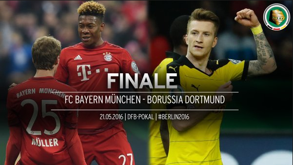 Ponturi fotbal DFB Pokal - Bayern Munchen vs Borussia Dortmund