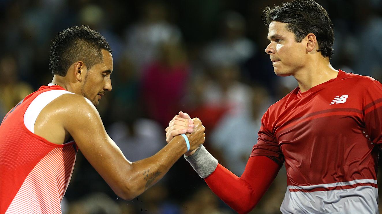 Meciul vedeta din turul 2 la Roma Open Raonic vs Kirgyos