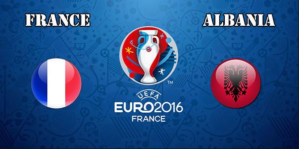 Ponturi fotbal EURO 2016 - Franta vs Albania