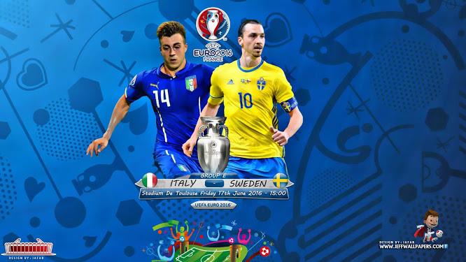 Ponturi fotbal EURO 2016 - Italia vs Suedia