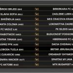 Ponturi Europea League - Dueluri tari inca din primul tur