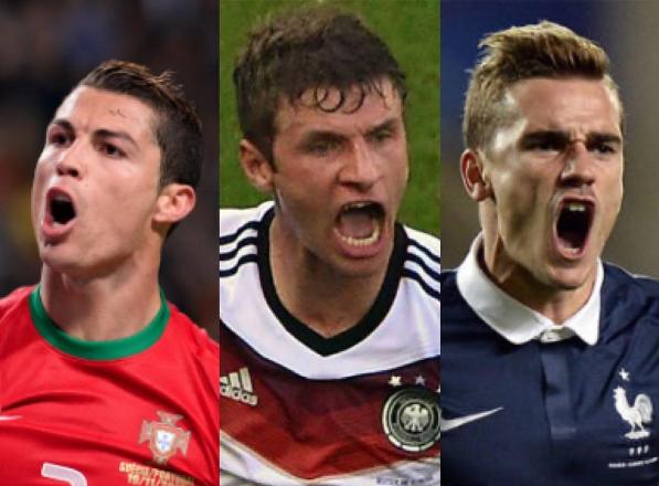 cote pentru golgheterii Euro 2016