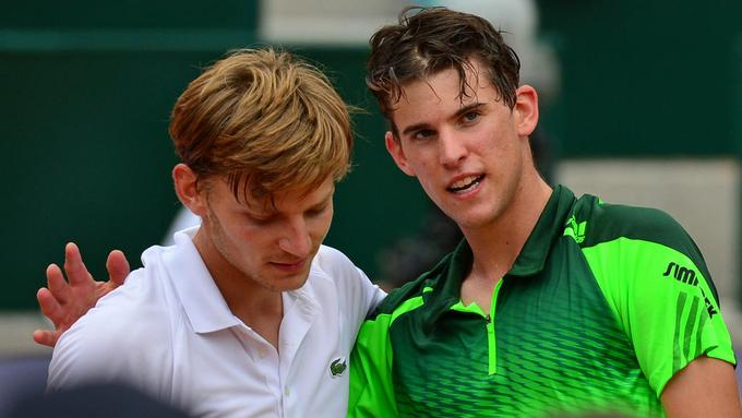 Ponturi tenis masculin Dominic Thiem vs David Goffin