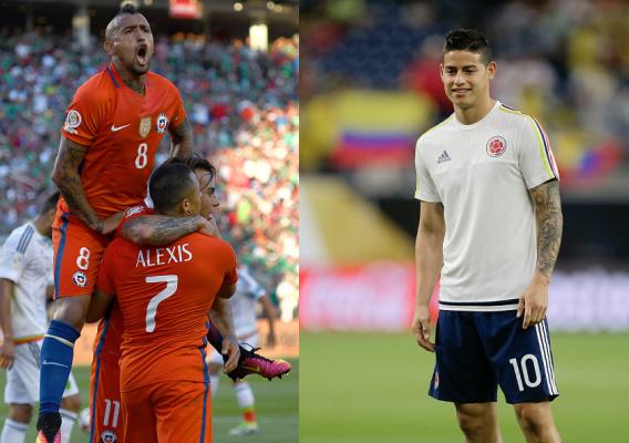 Ponturi fotbal Copa America 2016 Chile vs Columbia