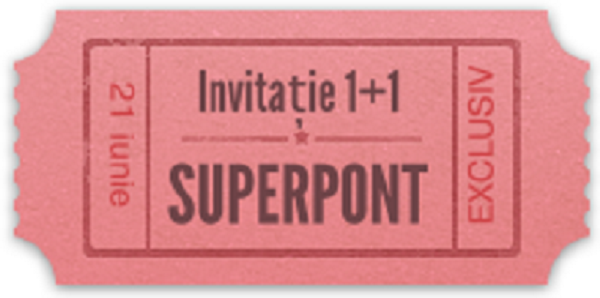 invitatie prieteni Superpont