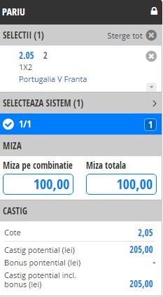 bilet stanley finala franta portugalia