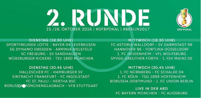 Bayern vs Augsburg - Derby-ul turului 2 din DFB Pokal