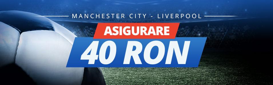 Pariaza fara niciun fel de risc pe meciul Man. City vs Liverpool