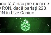 Azi, la Unibet, pariu fără risc pre meci de 60 RON