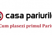 casa pariurilor cum plasezi primul pariu