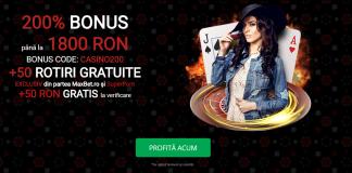 cel mai mare bonus la cazino din Romania