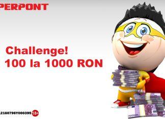 Challenge - De la 100 la 1000 RON!