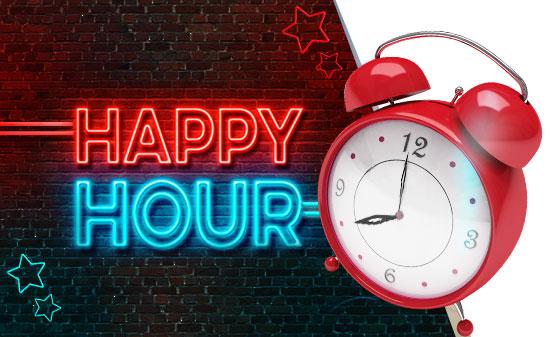Vineri ai Happy Hour la NetBet! Primesti bonus de pana la 200 RON!