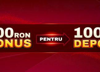 Marti depui cu 100 RON si joci cu 200 RON!