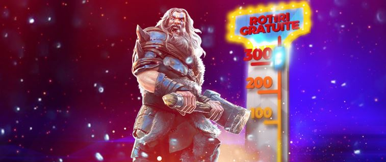 Vineri poti primi pana la 300 ROTIRI GRATUITE la Maxbet!