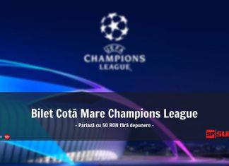 Bilet Champions League 7 noiembrie 2018 - Cota 68!