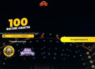100 ROTIRI GRATUITE la Cazinoul Maxbet pentru verificarea contului!