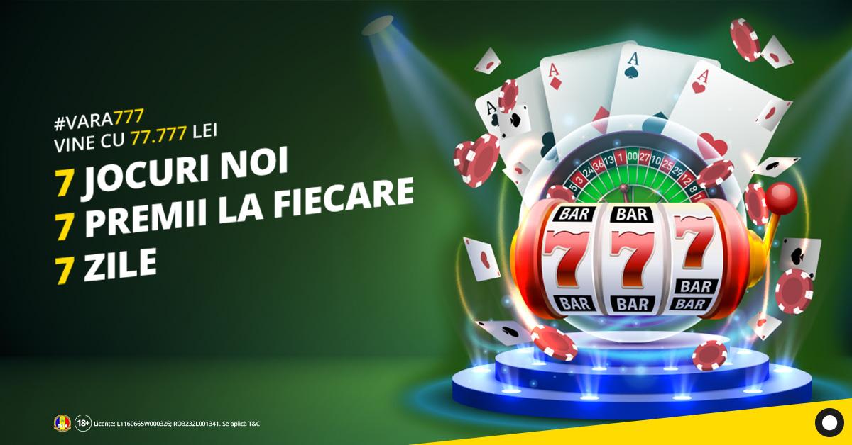 premii fortuna cazino 7777 RON